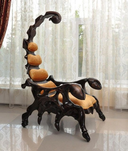 Scorpion throne