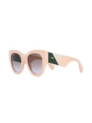1735d5d7a Fendi Eyewear Óculos De Sol 'F Is Fendi' in 2019 | glasses | Oculos ...