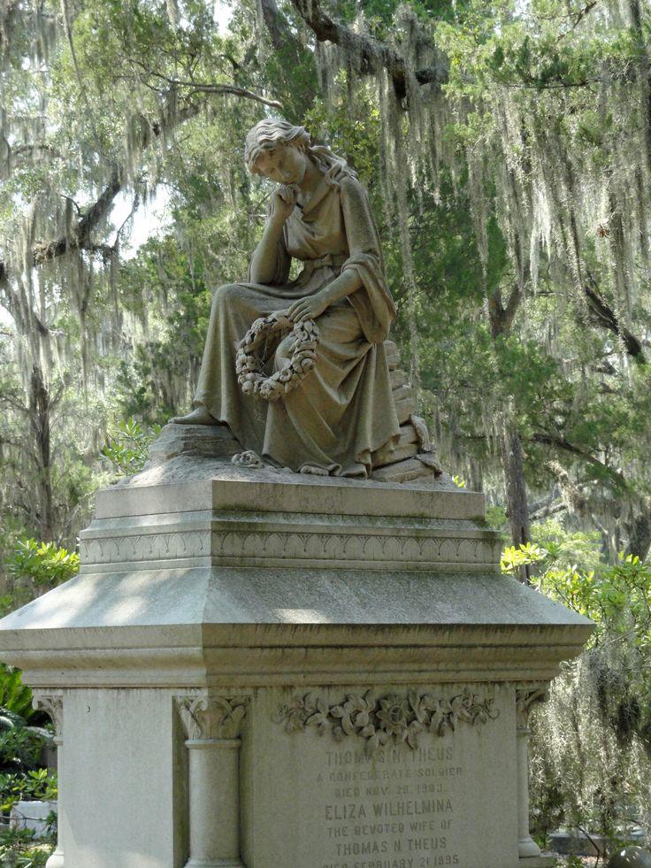 1000 Images About Bonaventure Cemetery On Pinterest