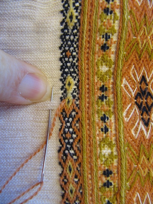 lovely moroccan embroidery