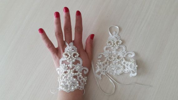 Hey, I found this really awesome Etsy listing at https://www.etsy.com/listing/271599879/weddingbridal-glovesivory-pearls