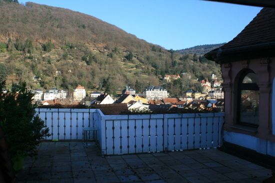 Wunderschöne 2 Zimmer Dachgeschosswohnung in Heidelberger Altstadt 890 an sofort