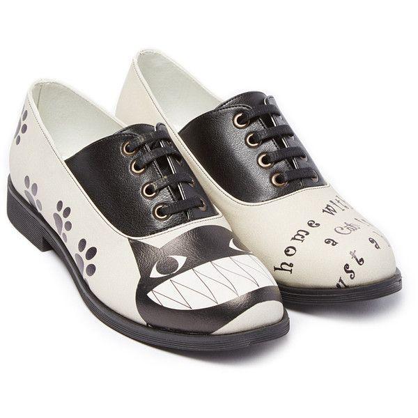 Illusion dress black and white oxford