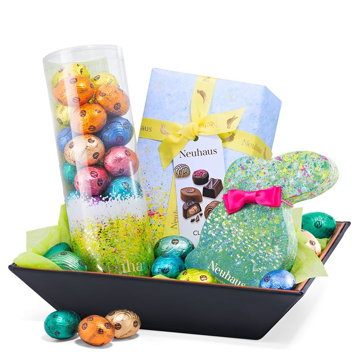 25 best easter chocolate 2017 images on pinterest boxing order easter delights gift basket from the official neuhaus online store experience the timeless elegance of neuhaus belgian chocolate negle Images