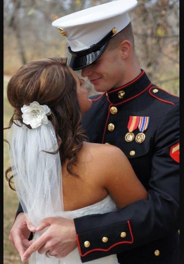 Marine wedding!