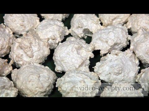 Vánoční kokosky - videorecept ¨(se strouhankou)