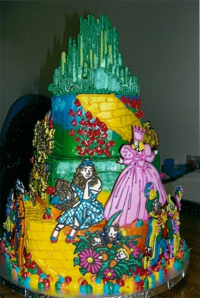 Wizard of Oz By AKate on CakeCentral.com