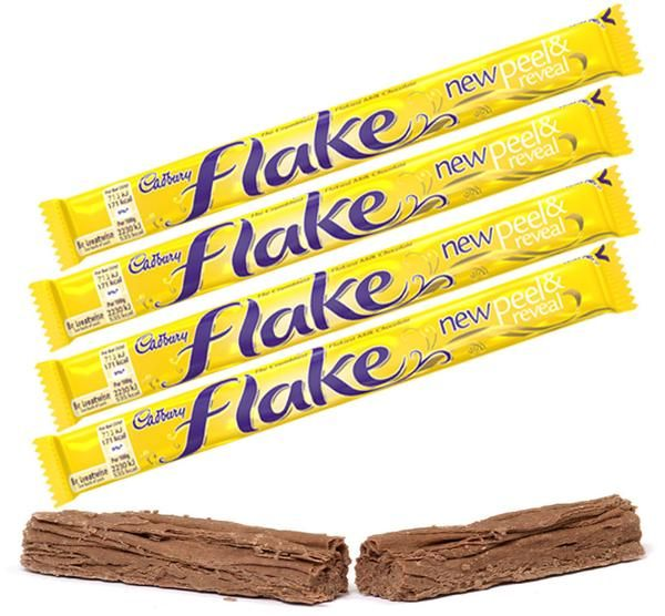 DESCRIPTION The process for making Cadbury Flake is a closely guarded secret and no other chocolate manufacturer has ever managed to recreate it. That's why no other chocolate bar can rival the delica
