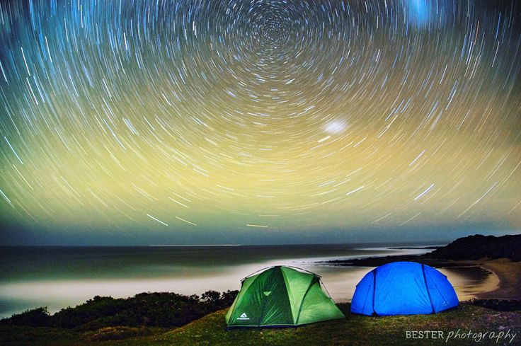 Wild camping beneath the stars in the middle of the Transkei, Wild Coast, South Africa. by Travis Bester - Photo 153938935 - 500px