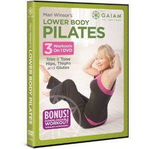 Mari Winsor's Lower Body Pilates DVD from Gaiam