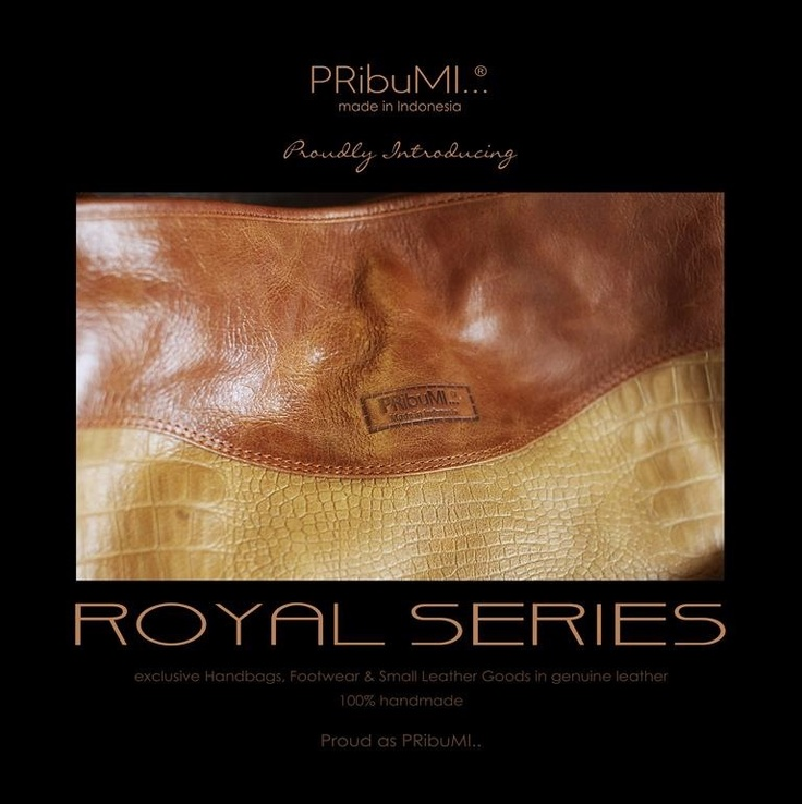 ROYAL SERIES Exclusive Handbags, Footwear & Small Leather Goods in genuine leather. 100% handmade by PRibuMI...