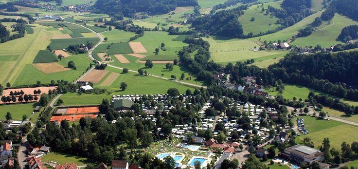 campinginformatie - camping in Kirchzarten bij Freiburg (Dreisamtal in het Zwarte Woud)