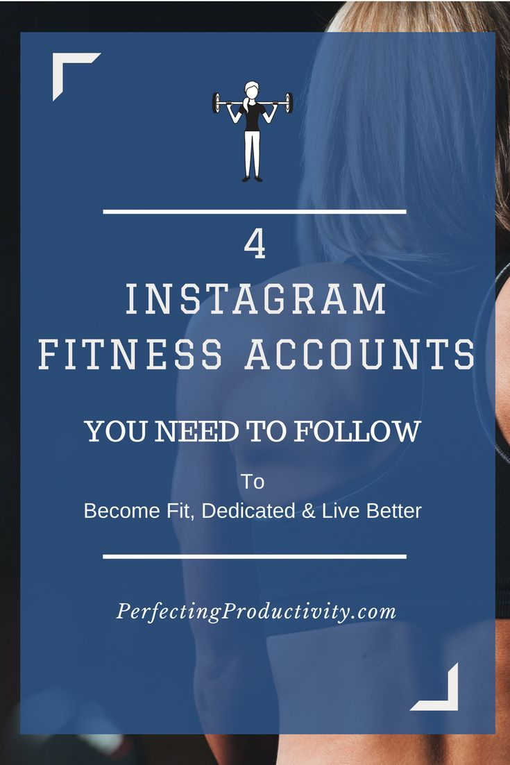 4 Incredibly influential instagram influencers you most follow for achieving your health, fitness and lifestyle goals. Schedule