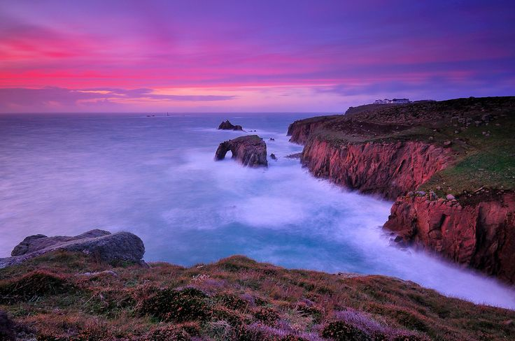 Lands End, Cornwall by Dominic Fletcher