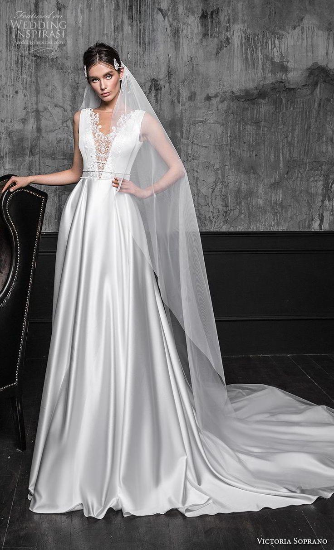 Weddinginspirasi.com featuring – victoria soprano 2020 bridal sleevess illusion …