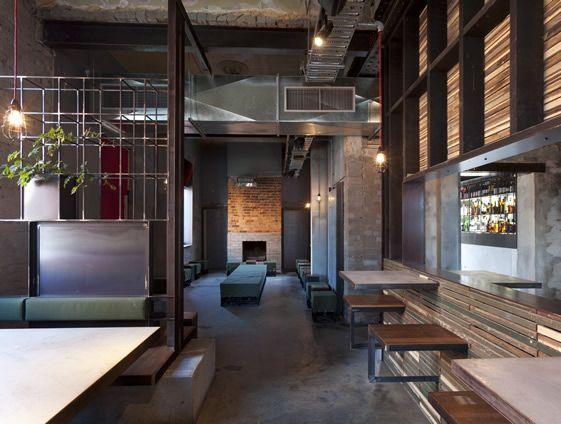 The National Hotel Melbourne InteriorsCafe BarHospitality DesignRestaurant