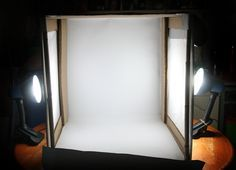 How to Create an Inexpensive Photography Lightbox -- via wikiHow.com