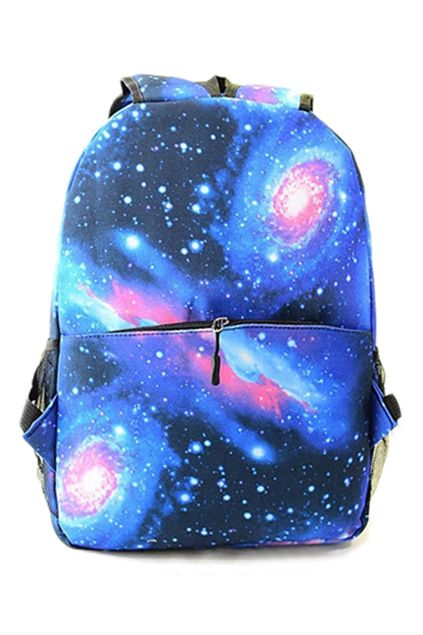 ROMWE | Galaxy Print Cool Backpack, The Latest Street Fashion