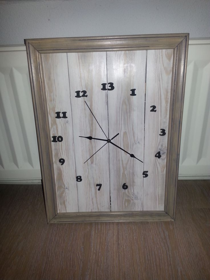 13 hour clock for the daily r&r