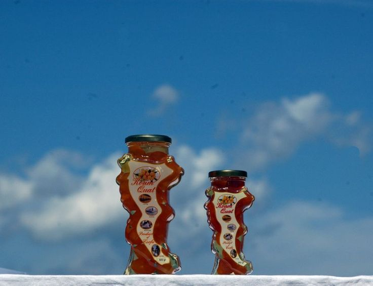 Kum Quat liqueur sold in Corfu Island shaped bottles