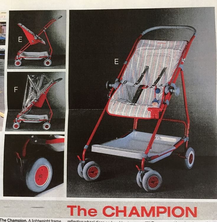Vintage mothercare champion 1980's