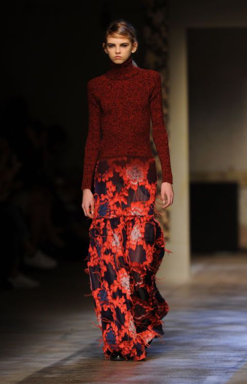 Erdem. See all our favorite looks from London fashion week fall 2015.
