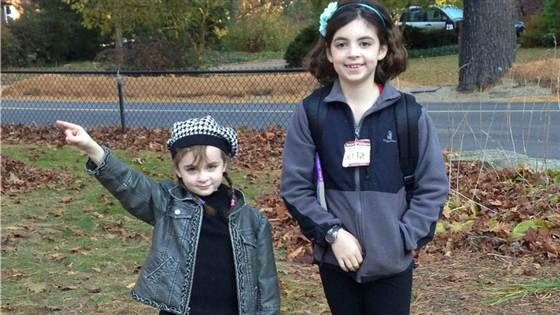 """Blaire, 6, and Brooke, 9, are the authors behind the """"boyfriend rules"""" list that has gone viral."""