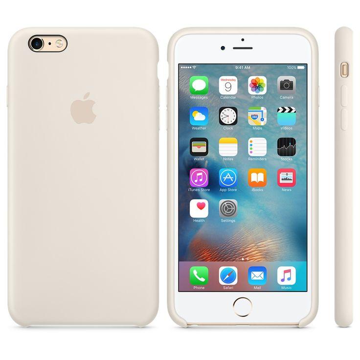 iPhone 6s Plus Silicone Case - Antique White - Apple (AUD $59).