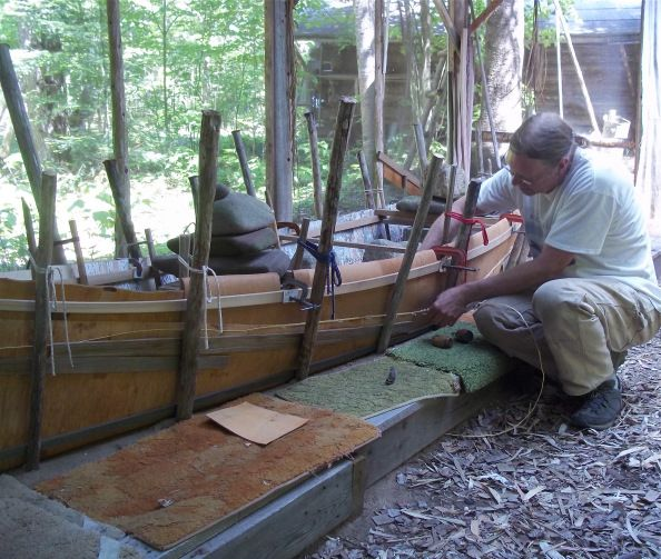 29 Best Images About Birch Bark Canoe Building On