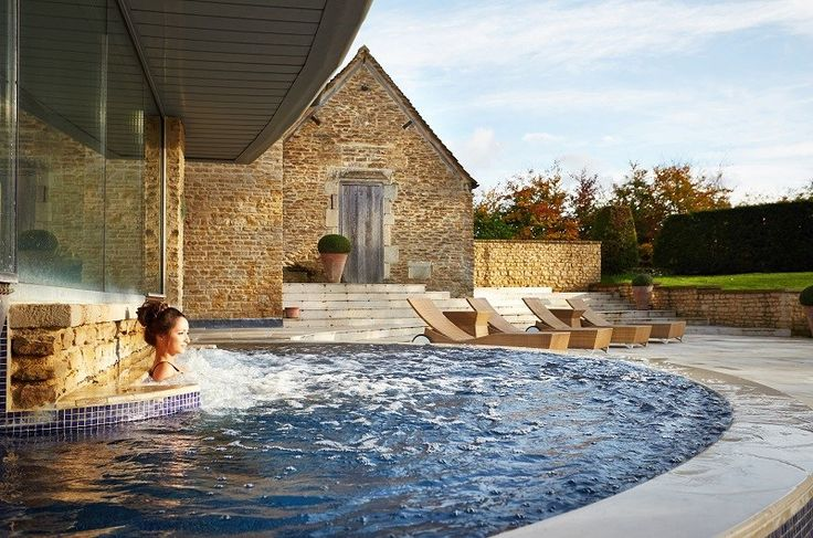 Whatley Manor luxury hotel and spa with a Michelin-starred restaurant and private cinema - one of the best hotels in the Cotswolds