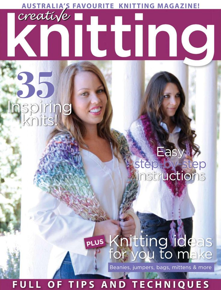 kn4514_1.jpg Knitting Magazine: Creative Knitting №45 2014