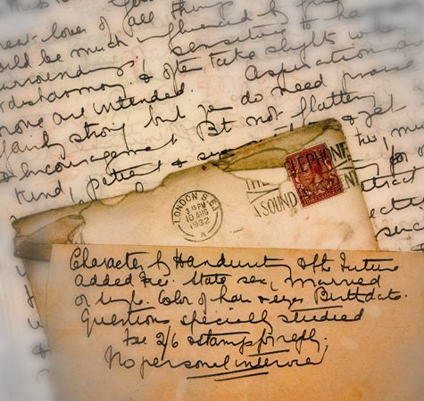 Letter writing was so romantic, personal and truthful. Description from silentjourney.com. I searched for this on bing.com/images