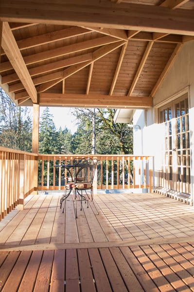 Albany Oregon Deck Companies, Wood Patio Cover, Deck With A View, Cedar Deck