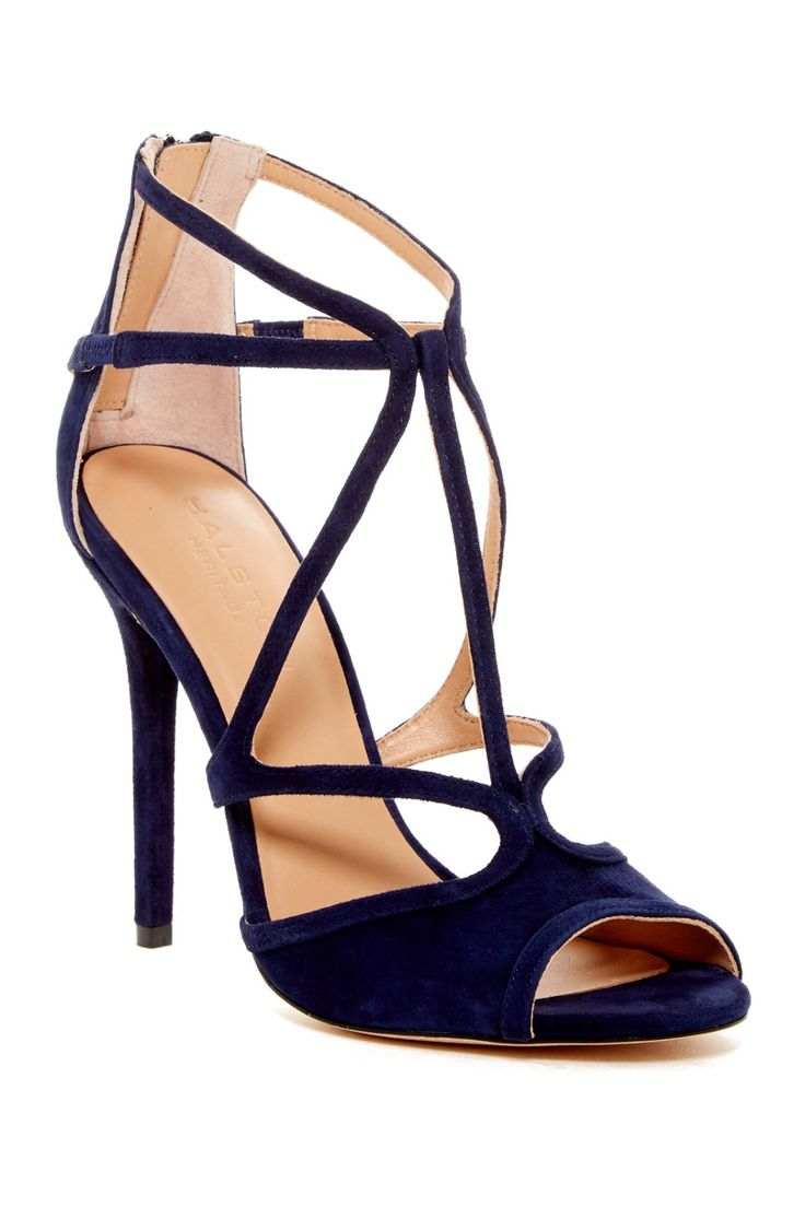 Ready for a night out in these stunning Halston Heritage Monica Stiletto Sandals