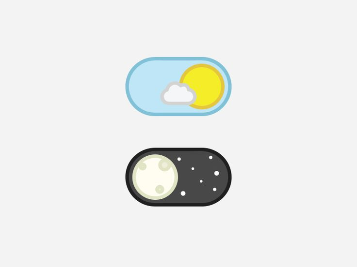 A iOS based toggle button for day-night. Wanna see how smoothly it works ? Check…