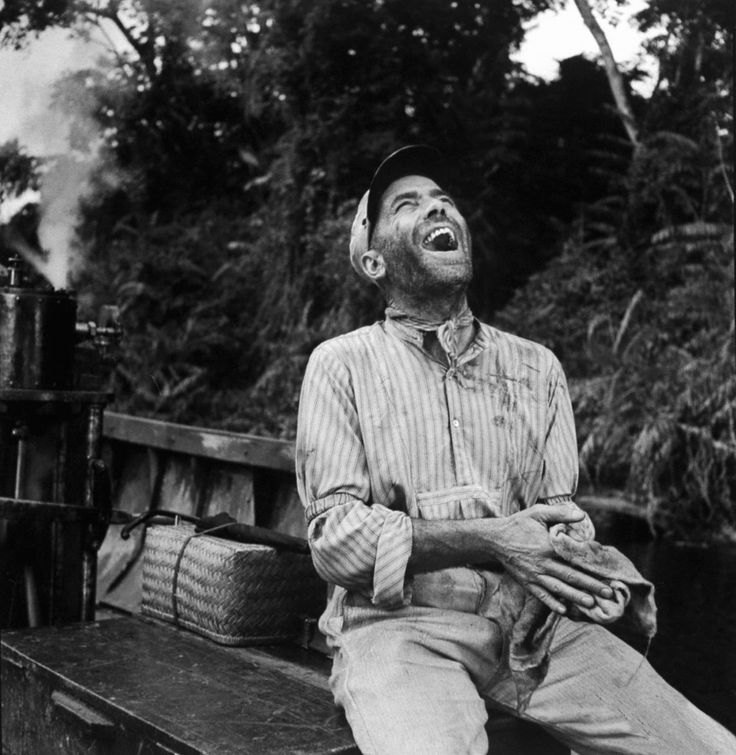 Humphrey Bogart, The African Queen Awesome movie with Katherine Hepburn