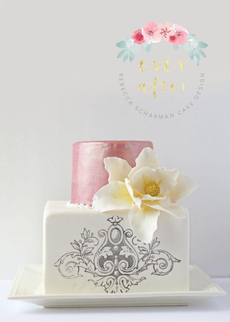@everaftercake Baroque cake made for a family celebration.