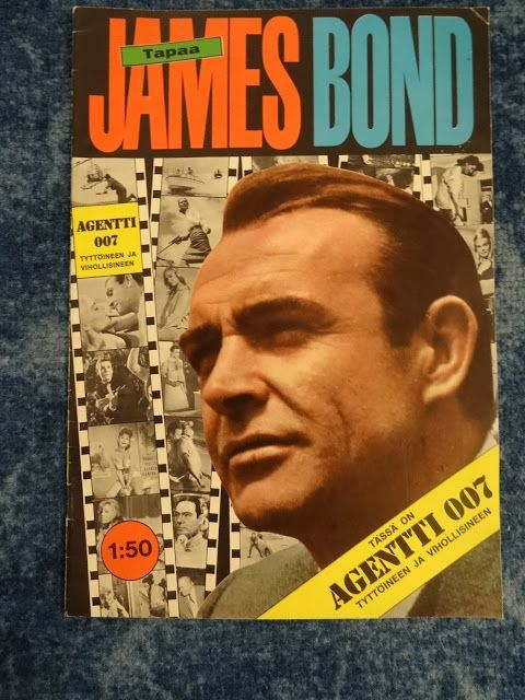 "007 TRAVELERS: 007 Item: ""Tapaa James Bond"" magazine"