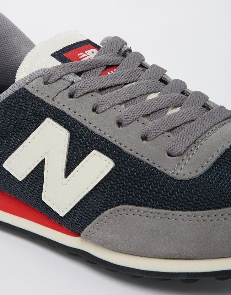 new balance 410 grey blue red