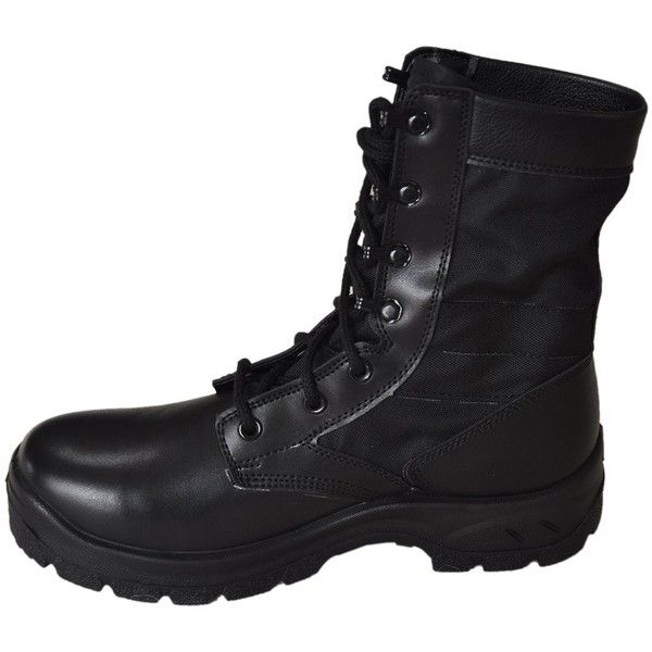 RIELD Men's RMBB Jungle Boots Multifunctional Combat Boots ($37) ❤ liked on Polyvore featuring men's fashion, men's shoes, men's boots, mens wide shoes, mens wide width shoes, mens wide boots, mens wide fit shoes and mens military style boots