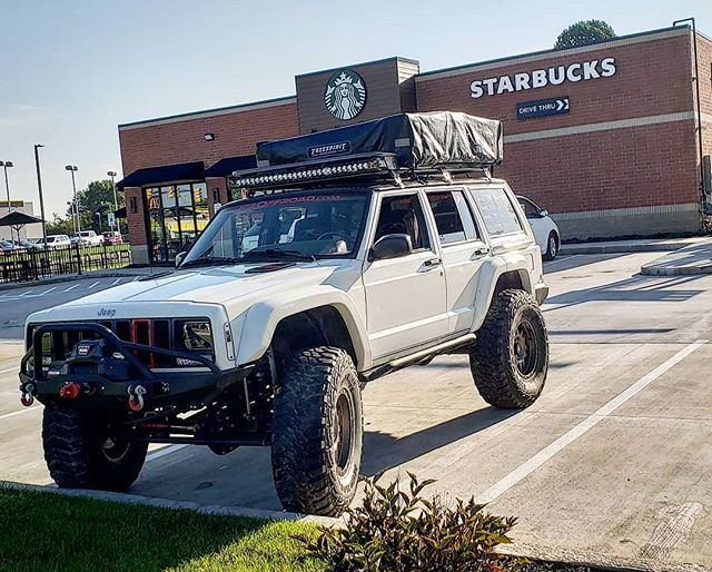 Is This The Overlanding Thing Everyone Has Been Talking About Realhawk Framelessandshameless Jeepology Jeepbeef Jeep Cherokee Xj Jeep Xj Jeep Cherokee