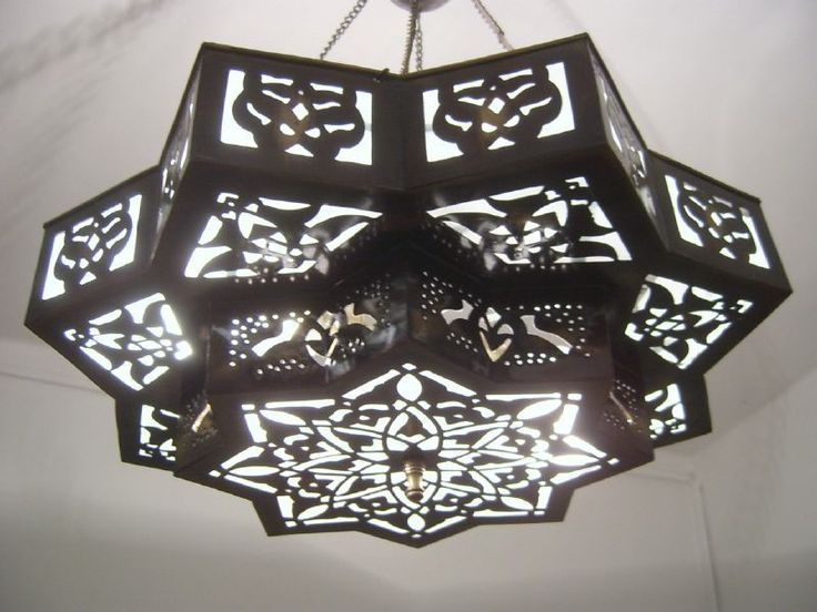 Moroccan Style Middle Eastern Star Chandelier Lamp #Moroccan