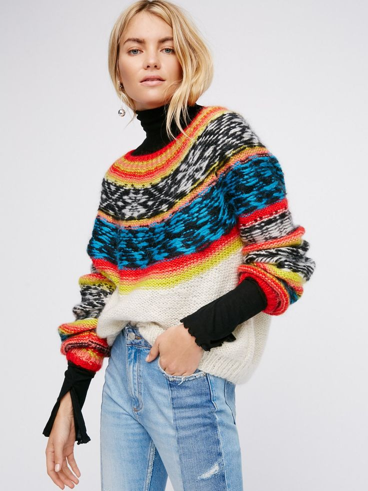 Mes Demoiselles Goyave Knit Sweater at Free People Clothing Boutique