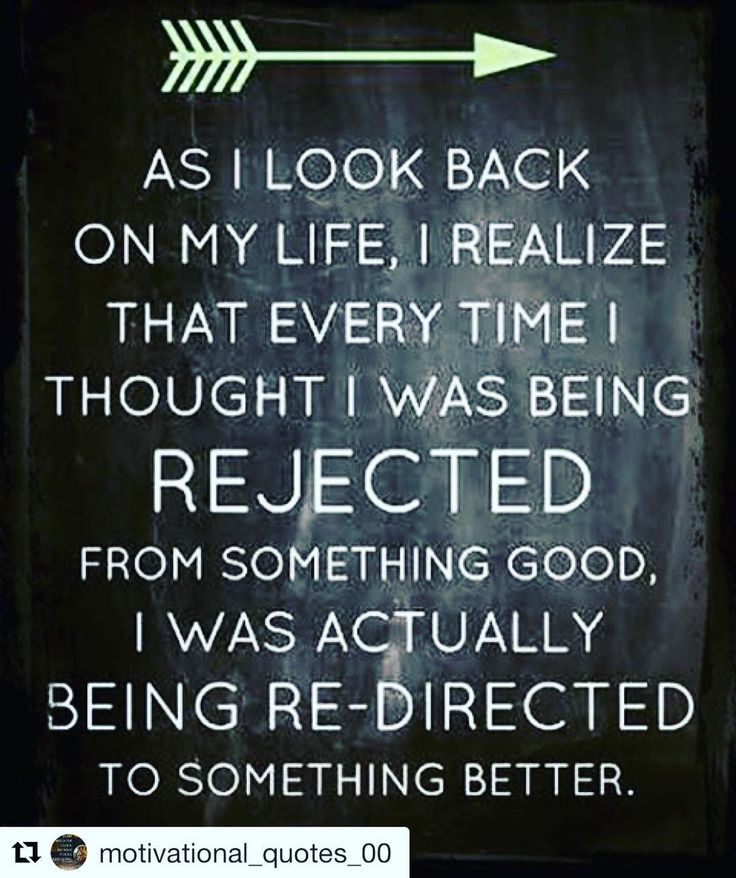 """This quote is so true there has been many times we've have been rejected by something or someone and in the midst of it it's a real nightmare. We touched on the pain felt during rejection on the podcast and spoke about how horrible the moment is .... but with time we look back on that moment and laugh. We see the progress and steps we have taken from that rejection.  Last week we did a topic on """"motivation"""" a key factor that's needed especially after being served with a slice of rejection…"""