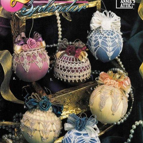 Free Crochet Patterns For Christmas Ball Covers : Beaded Crochet Christmas Ornament Cover ? Free Crochet ...