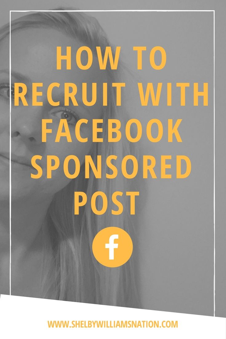 Discover how social media recruiting with Facebook Sponsored Posts can quickly covert up to 70% of your prospects into customers and business partners