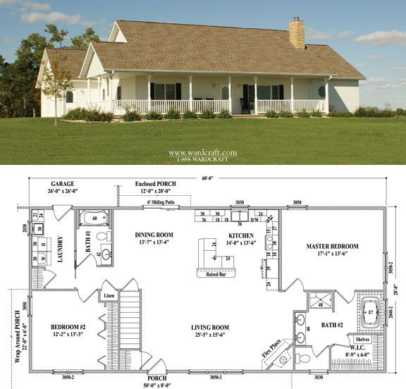 25 best ideas about 2 bedroom house plans on pinterest 2 bedroom floor plans architectural - House plans with bonus rooms upstairs ...