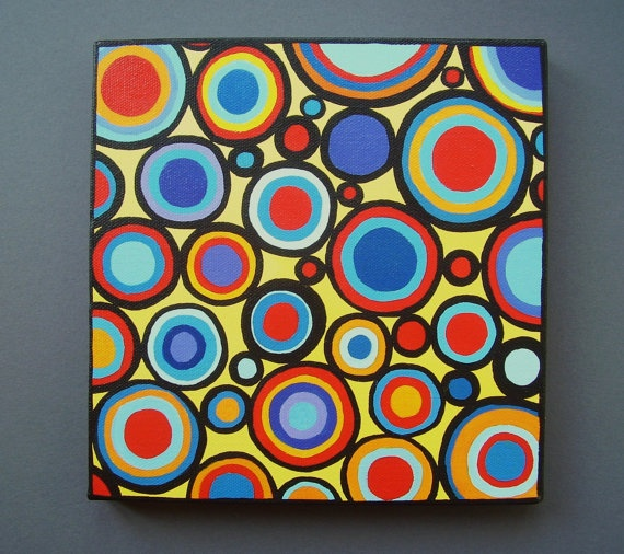 Circles + awesome colors=FUN!