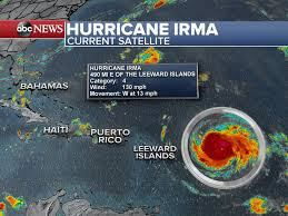 Florida declares state of emergency as Irma becomes Category 5 .... Prayers for all !!!!  9-8-17