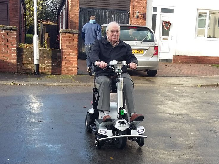 Mr Baker chose the Quingo Flyte mobility scooter find the perfect one for you with a home test drive here http://contact.quingoscooters.com/social-mobility-scooters